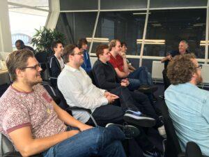 ICT students Hogeschool Utrecht visit Ritra Cargo