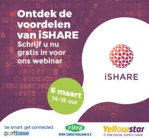 iSHARE webinar met Ritra Cargo