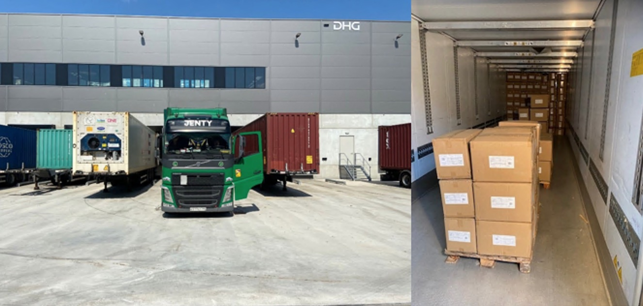 Wegtransport China expediteur Ritra Cargo
